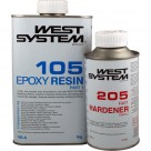 West System - 105 resina + 205 indurente standard Kit
