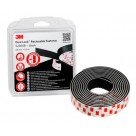3M - Dual Lock SJ355B Nero 25mm x 2.5m
